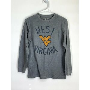 West Virginia Waffle Knit Thermal T-Shirt XL